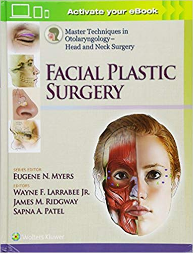 Livro Master Techniques in Otolaryngology - Head and Neck Surgery