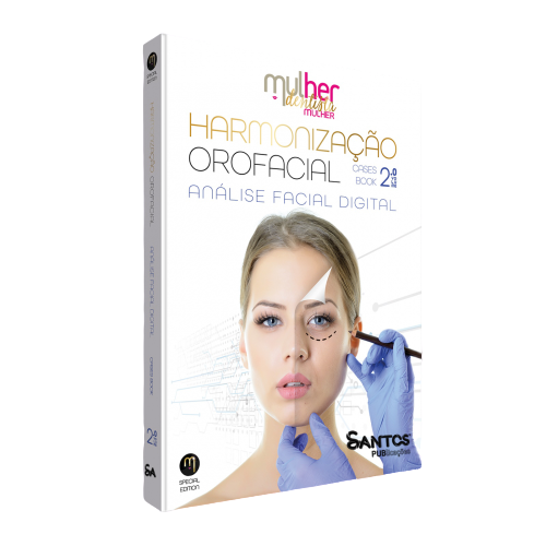 Livro Mdm Harmonização Orofacial 2.0 - Analise Facial Digital