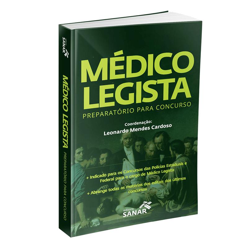Médico Legista: Preparatório Para Concurso