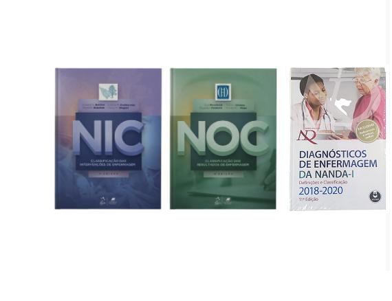 Livro NIC, NOC e Diagnósticos De Enfermagem Da Nanda.