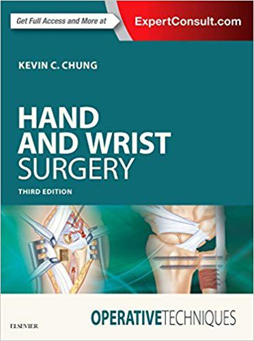 Livro Operative Techniques: Hand and Wrist Surgery 3ª Ed