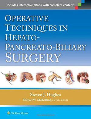 Livro Operative Techniques In Hepato-pancreato-biliary Surgery