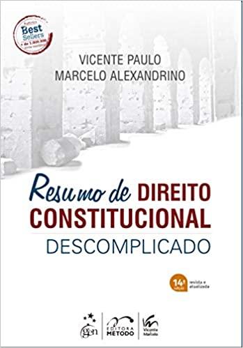 Resumo de Direito Constitucional Descomplicado, 2020