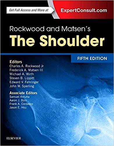 Livro Rockwood and Matsen's The Shoulder, 5 ed