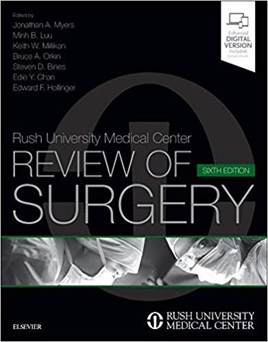 Livro Rush University Medical Center Review of Surgery, 6ª Ed