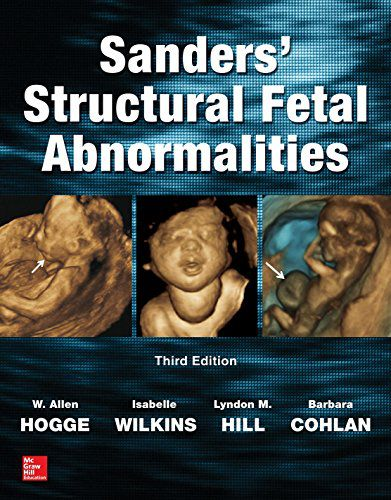 Livro Sanders' Structural Fetal Abnormalities, Third Edition