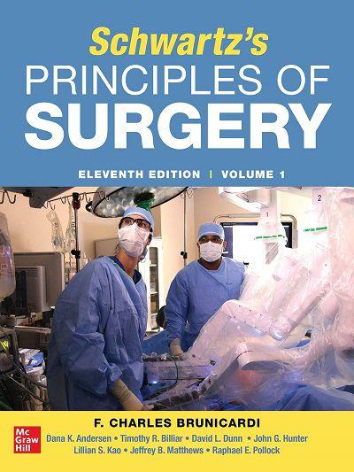 Livro SCHWARTZ'S PRINCIPLES OF SURGERY 2-volume set 11th edition
