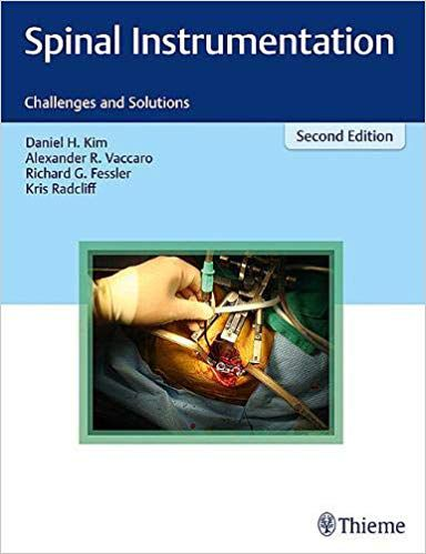 Livro Spinal Instrumentation: Challenges and Solutions