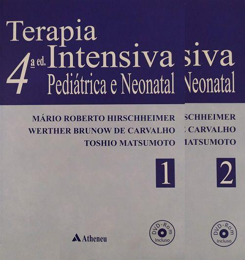 Livro Terapia Intensiva Pediátrica E Neonatal Com DVD Rom