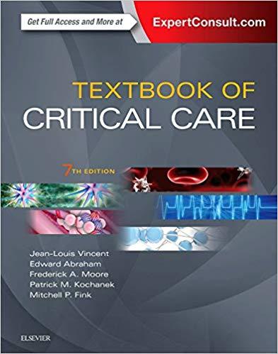 Livro Textbook of Critical Care, 7ª ed
