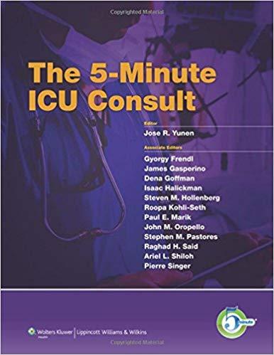 Livro The 5-Minute ICU Consult