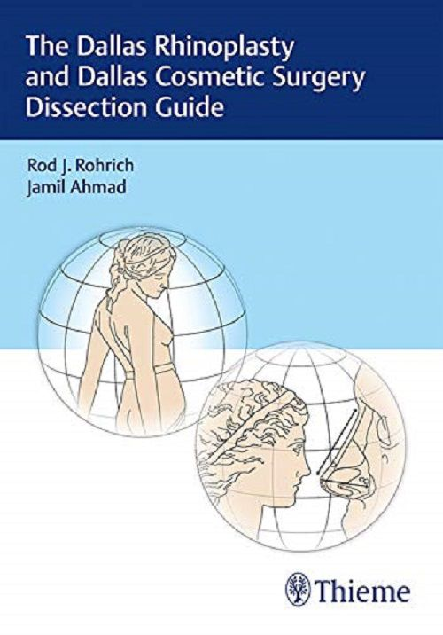 Livro The Dallas Rhinoplasty and Dallas Cosmetic Surgery Dissection Guide