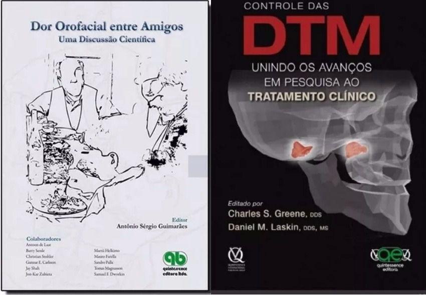 Livros Dor Orofacial Entre Amigos E Controle Das Dtm: Unindo