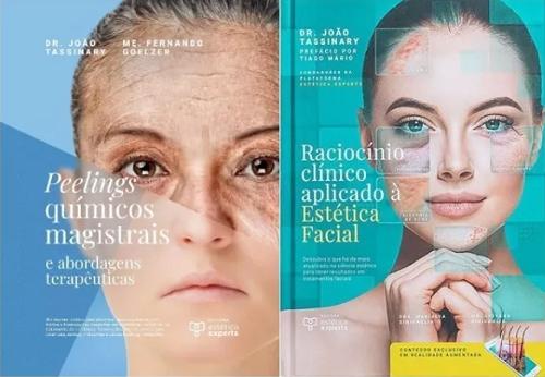 Livros Peelings Químicos Magistrais E Raciocínio Clínico aplicado à Estética Facial