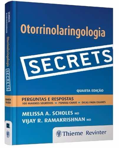 Livros Secrets Otorrinolaringologia Perguntas E Respostas