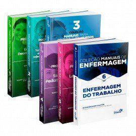 Manuais De Enfermagem Concursos E Resid. Vols 1 2 3 4 5 E 6