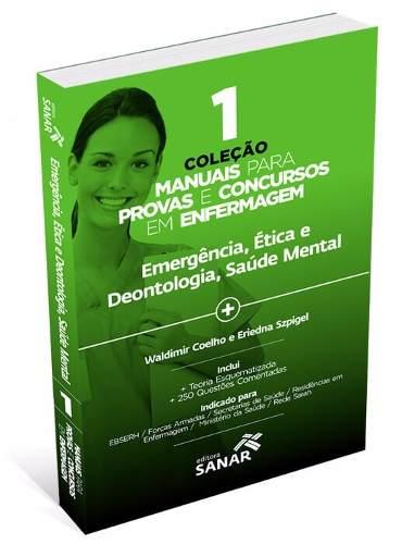 Manuais De Enfermagem Para Concursos E Residências Vol 1,2,3,4 E 5