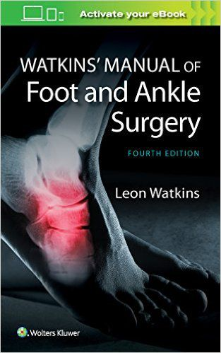 Livro Manual of Foot and Ankle Surgery
