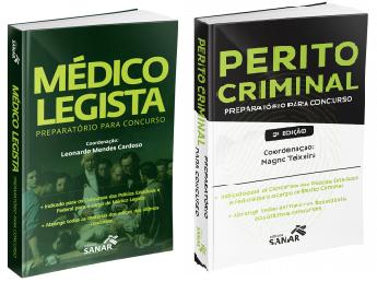 Médico Legista Preparatório Para Concurso + Perito Criminal Preparatório Para Concursos 2ª Edição