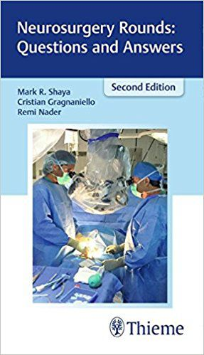 Livro Neurosurgery Rounds: Questions and Answers