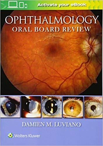 Livro Ophthalmology Oral Board Review