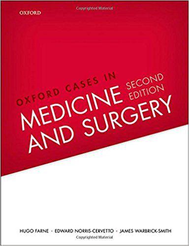 Livro Oxford Cases In Medicine And Surgery