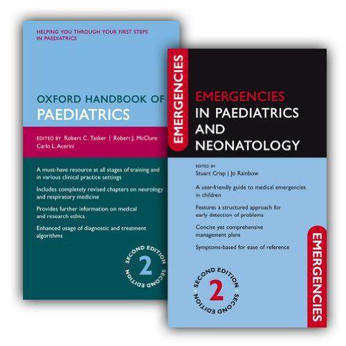 Livro Oxford Handbook Of Paediatrics And Emergencies In Paediatrics And Neonatology Pack