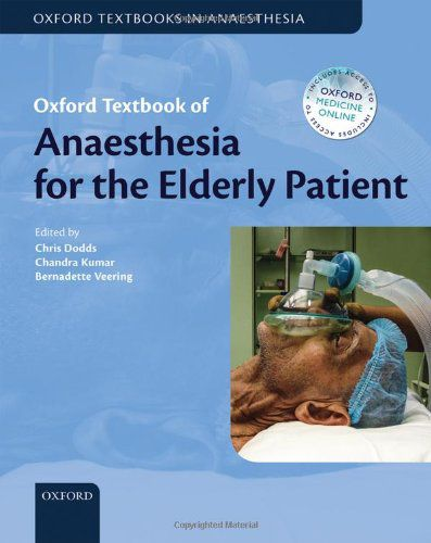 Livro Oxford Textbook Of Anaesthesia For The Elderly Patient