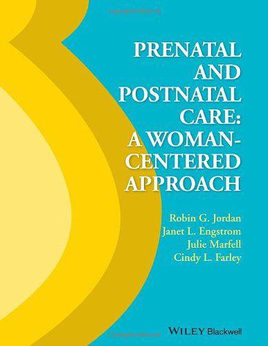 Livro Prenatal And Postnatal Care