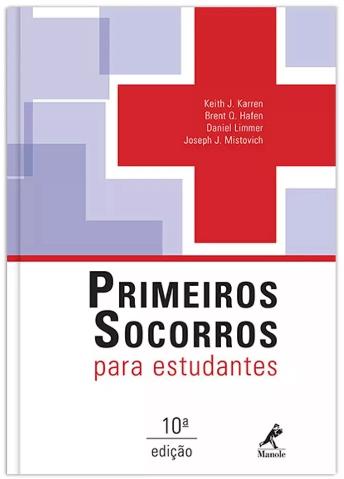 Livro Primeiros Socorros Para Estudantes