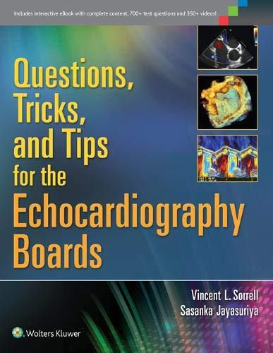Livro Questions, Tricks, And Tips For The Echocardiography Boards