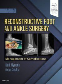 Livro Reconstructive Foot and Ankle Surgery: Management of Complications