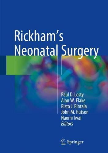 Livro Rickham's Neonatal Surgery