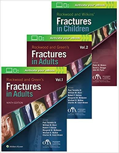 Livro Rockwood 9E Fractures Package