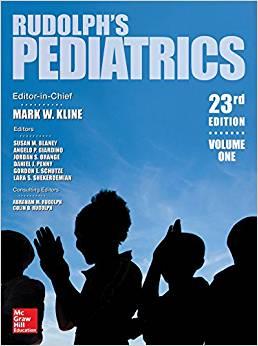Livro Rudolph's Pediatrics
