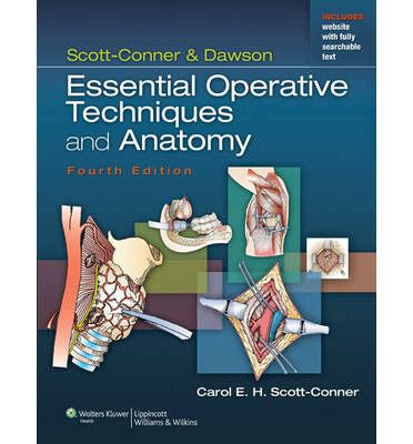 Livro Scott-Conner & Dawson: Essential Operative Techniques and Anatomy