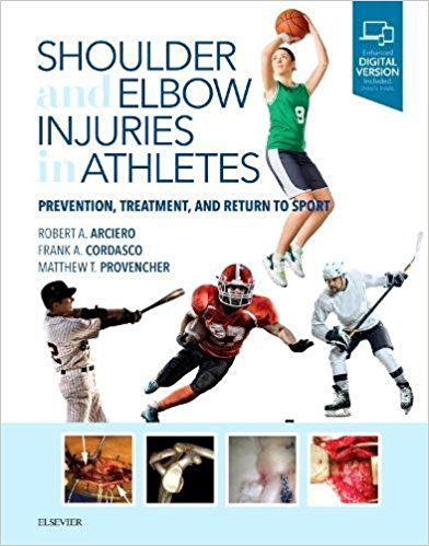 Livro Shoulder And Elbow Injuries In Athletes Prevention, Treatment And Return To Sport,1ª Ed