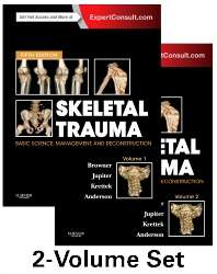 Livro Skeletal Trauma: Basic Science, Management, and Reconstruction, 2-Volume