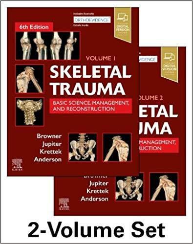 Skeletal Trauma, 6ª Ed 2019