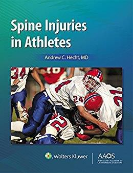 Livro Spine Injuries In Athletes
