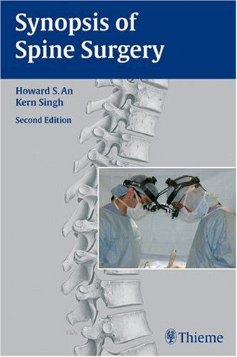 Livro Synopsis Of Spine Surgery