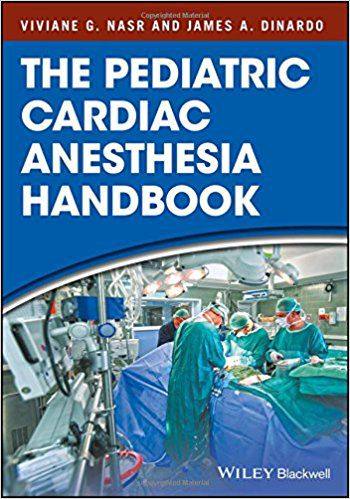 Livro The Pediatric Cardiac Anesthesia Handbook