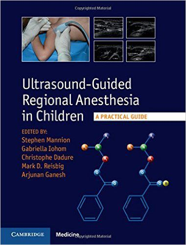 Livro Ultrasound-Guided Regional Anesthesia In Children