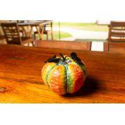 Abóbora em Madeira Pequena