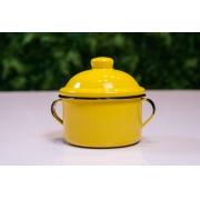 Açucareiro em Ágata Amarelo - 350 Gramas