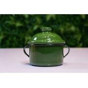 Açucareiro em Ágata Verde Escuro - 350 Gramas