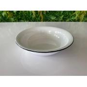 Bacia em Ágata Branca - 32 cm de Diâmetro