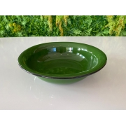 Bacia em Ágata Verde - 32 cm de Diâmetro