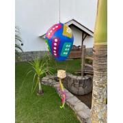 Balão Decorativo em Cabaça - Azul