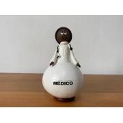 Boneco em Cabaça Profissões  - Médico
